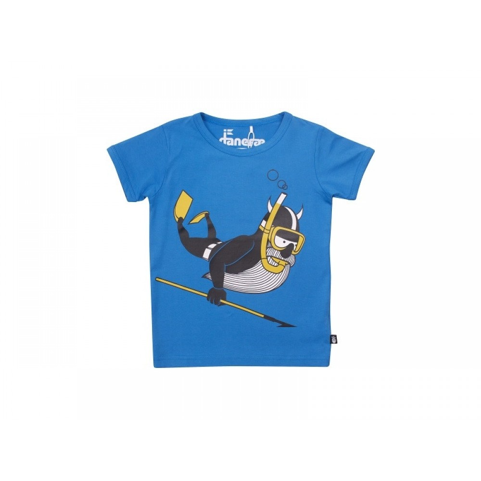 Danefæ T-shirt Erik Dykker Blå-31