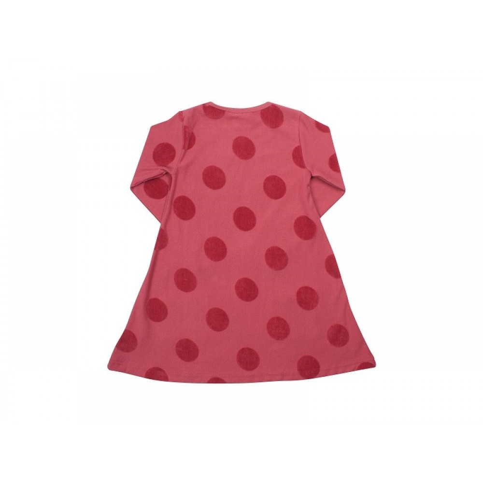 Danefæ Kjole Rhubarbe Dots-31