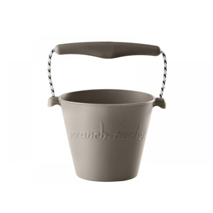Scrunch-Bucket, blød foldbar spand i grå fra Funkit World-31