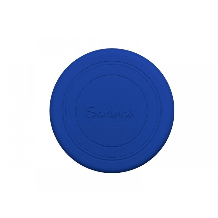 Scrunch Frisbee Silikone Midnatsblå-31