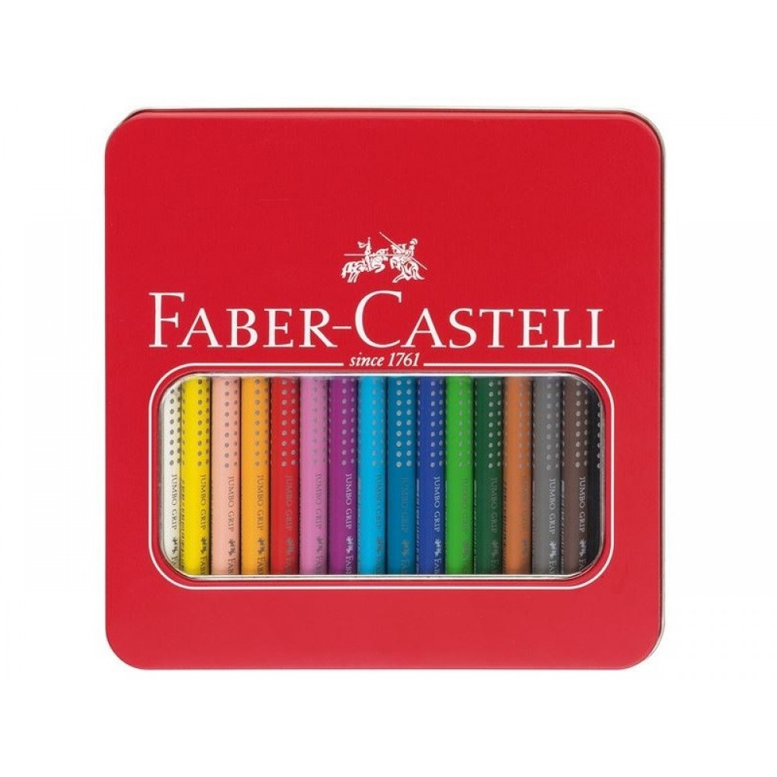 FaberCastellJumboGripfarveblyanterimetalske16stk-31