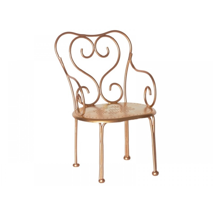 Maileg Vintage stol i Guld-31