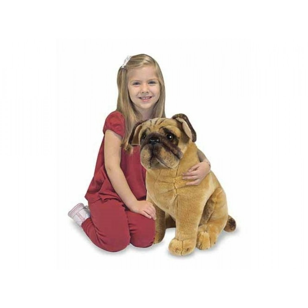 Bulldog i plys fra Melissa and Doug-31