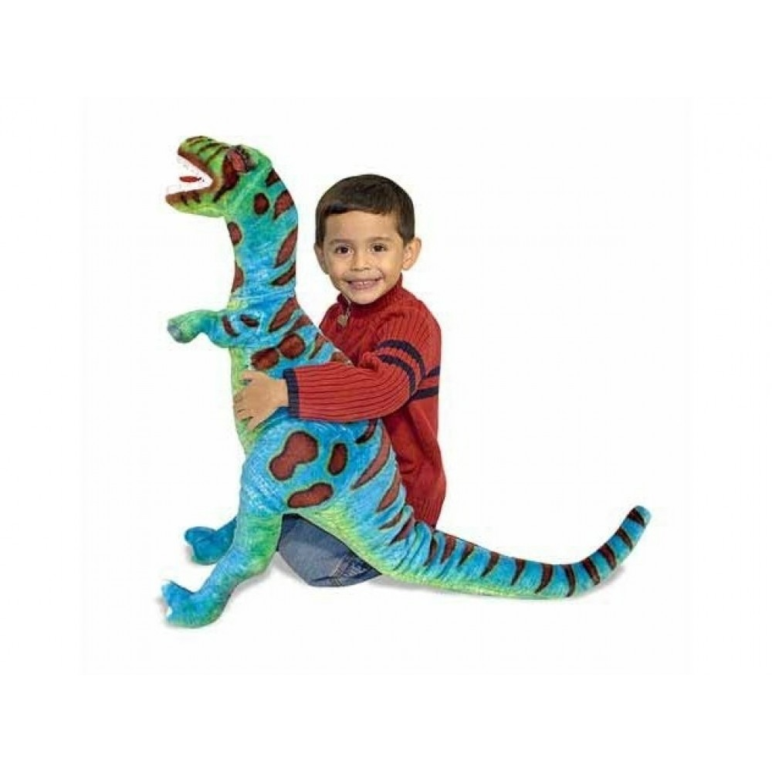 T-Rex dinosaurer i plys fra Melissa and Doug-31