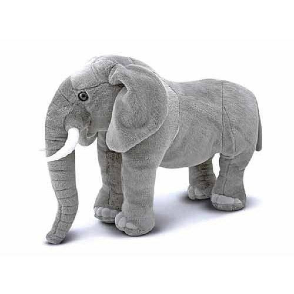 Melissa and Doug Stor Elefant bamse 68 cm lang*-31