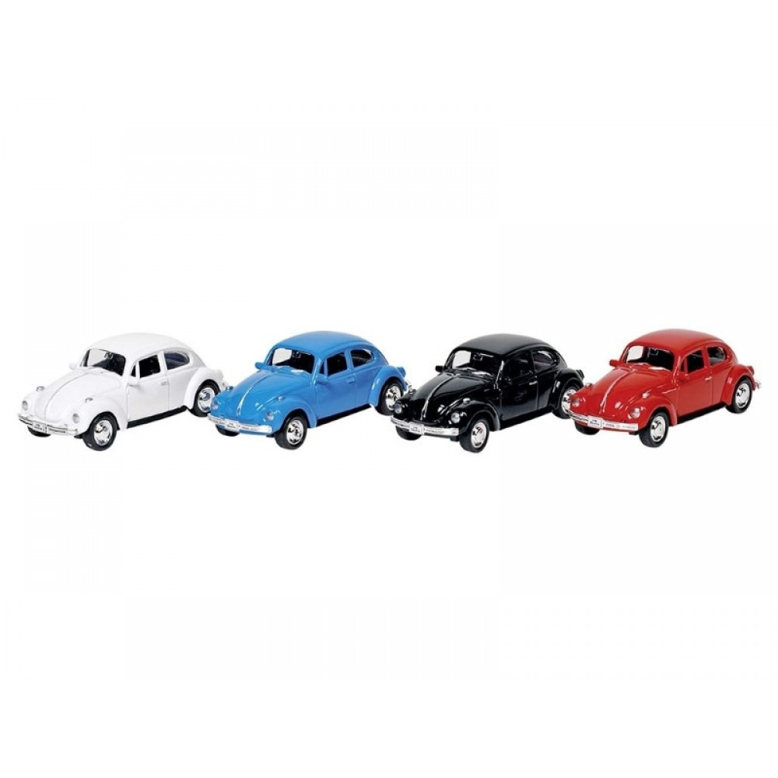 GOKI VW Classic Beetle Pull-back 1:60-64 Vælg farve-31