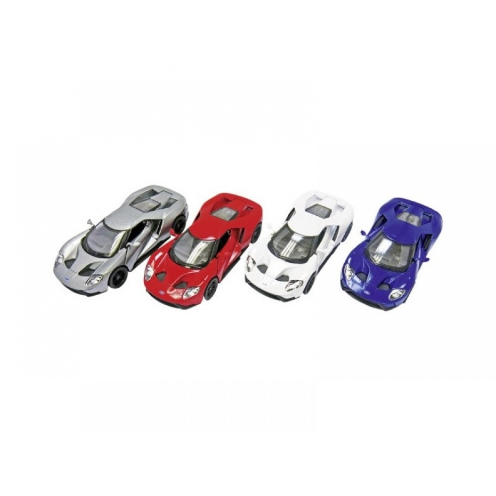 Goki Ford GT die-cast bil 4 varianter-31