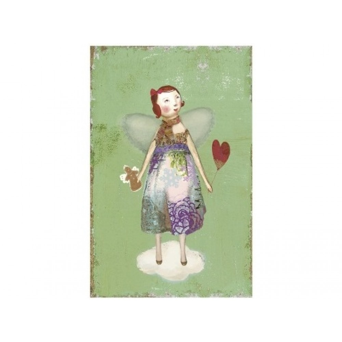 Maileg, Julekort med engel inkl. kuvert-31