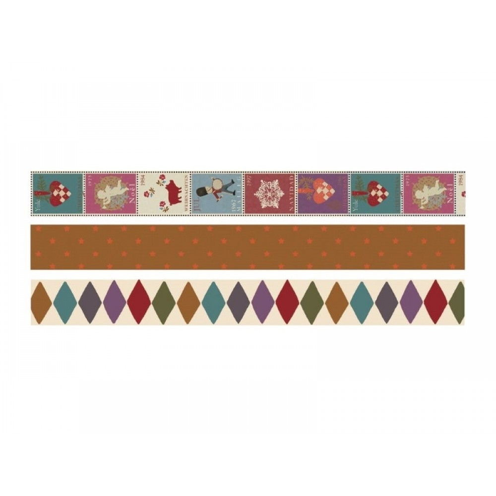 Masking tape julemærker Vælg imellem 3 varianter-31