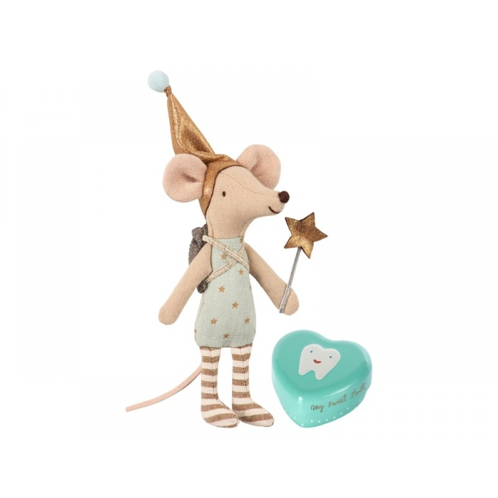 Maileg Tandfe mus storebror i æske-31