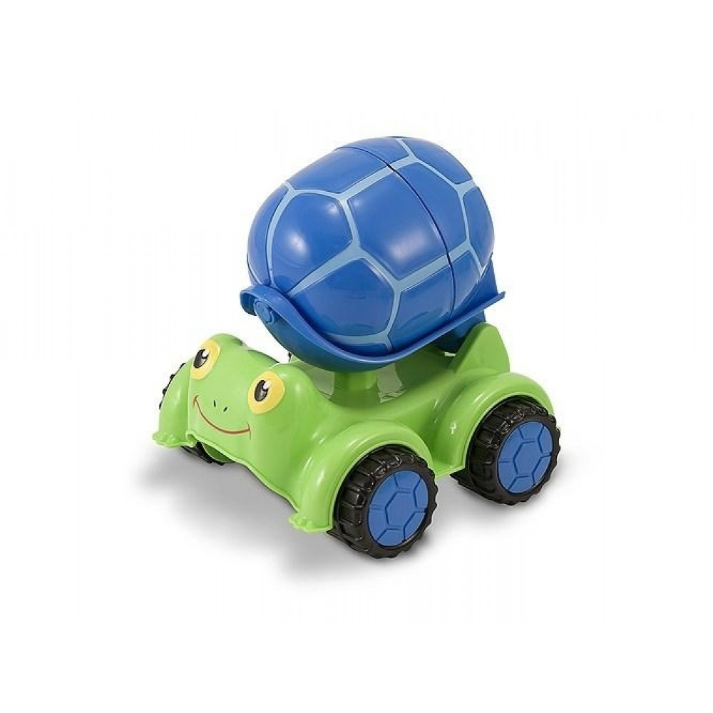 Melissa and Doug Skildpadde cement mixer til sandkassen*-31