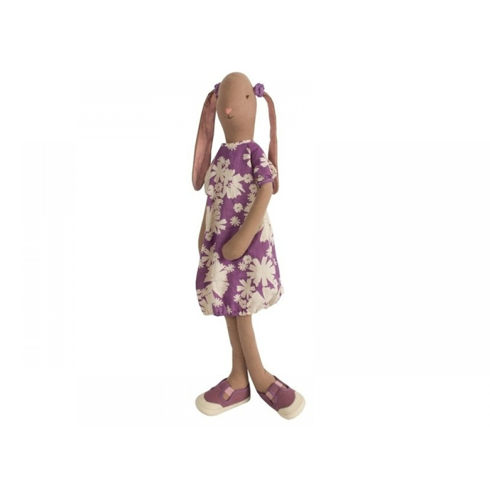 Maileg Mega Lilla kjole m. blomster inkl. hårelastikker*-31