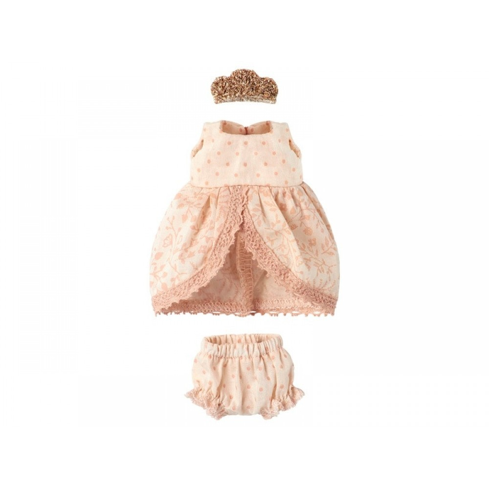 Maileg Micro Prinsessekjole Rosa-31