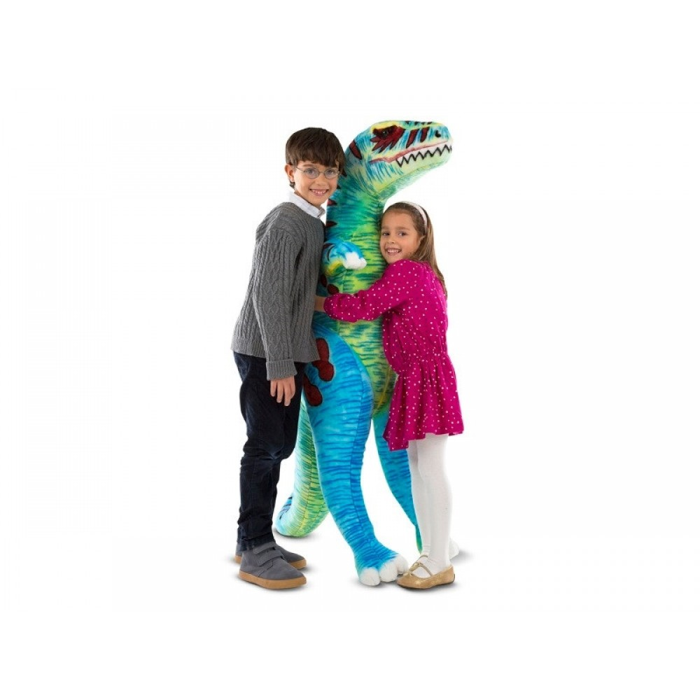 T-Rex gigant bamse fra Melissa and Doug-31