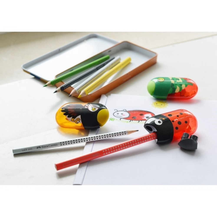 Faber-Castell dobbelt blyantspidser, ørn-31