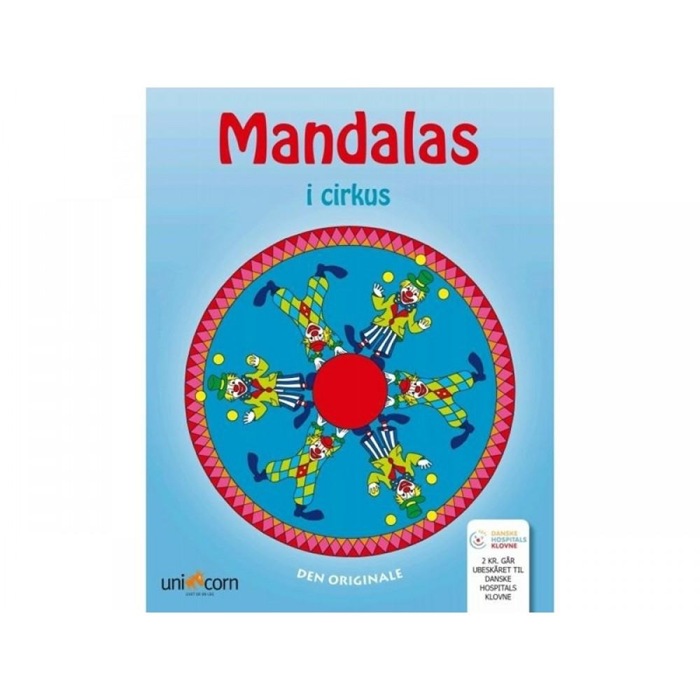 Mandalas Malebog i Cirkus, Støt Danske Hospitals Klovne-31