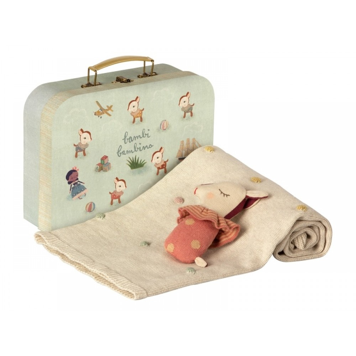 Maileg baby gaveæske Rosa-31