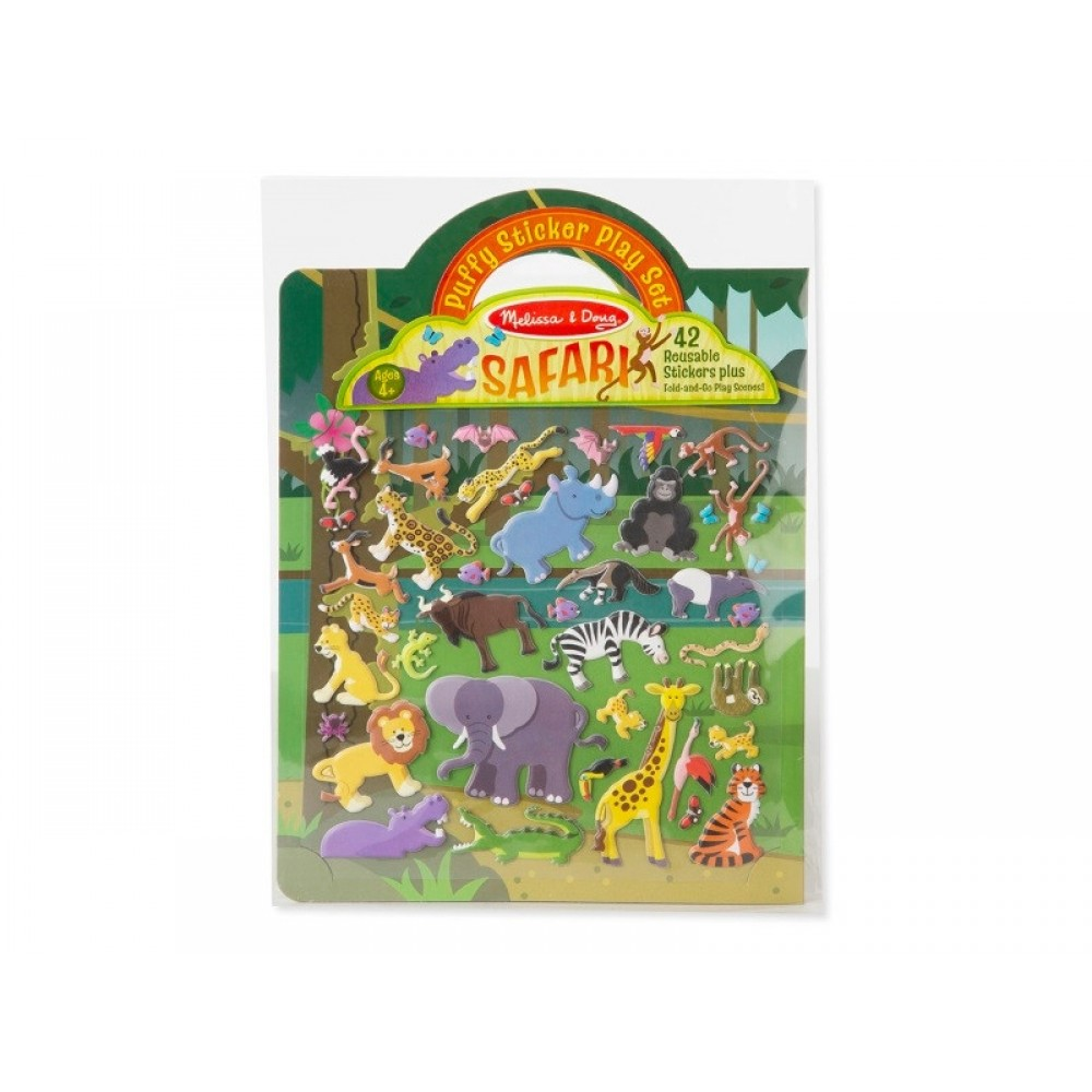 Safari klistermærkebog fra Melissa and Doug-31