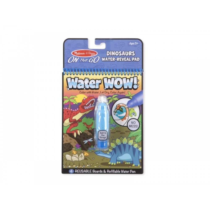 Water Wow Dinosaur Mal med vand, genanvendelige Melissa and Doug-32