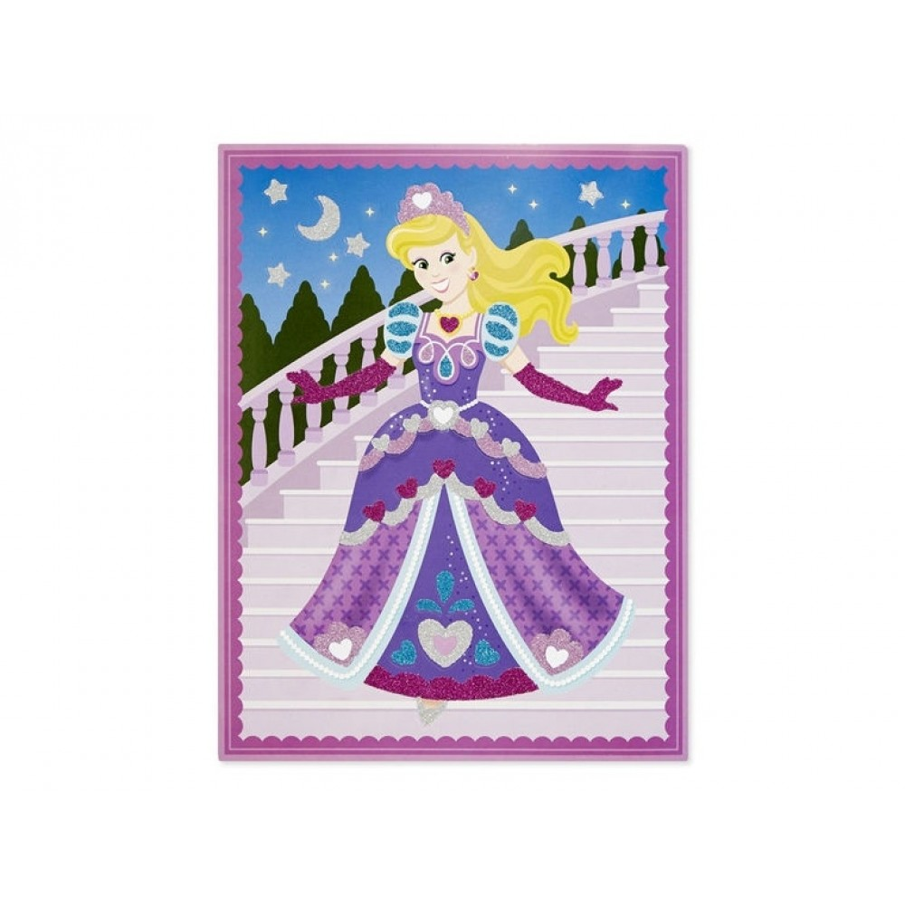 Aktivitetsbilleder, Prinsesser and Feer, Glitter Melissa and Doug-31