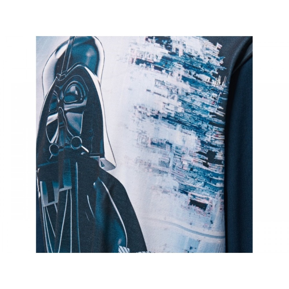 LEGO Star Wars Bluse m. Darth Vader Print Mørk Navy-31
