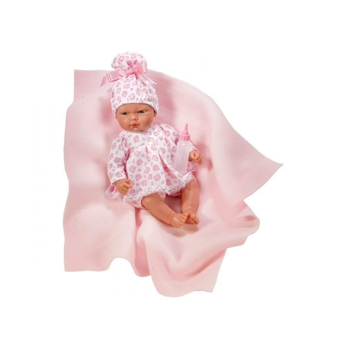 Así Baby pigedukke Oli med tæppe-31