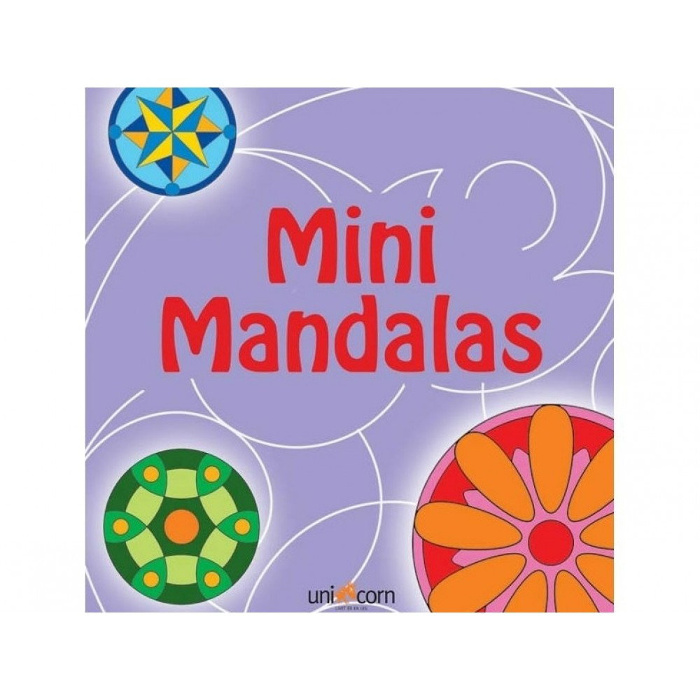 Mandalas Malebog mini Lilla-31