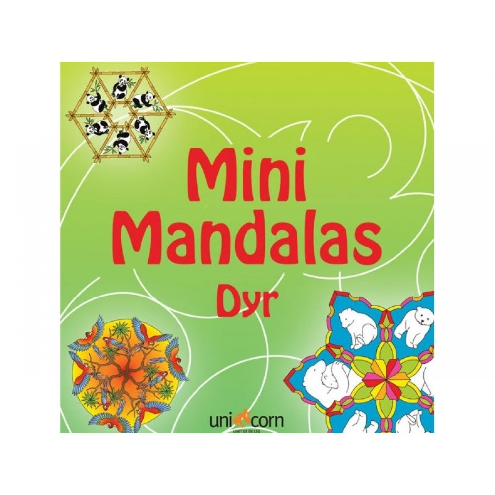 Mandalas malebog mini med dyr-31