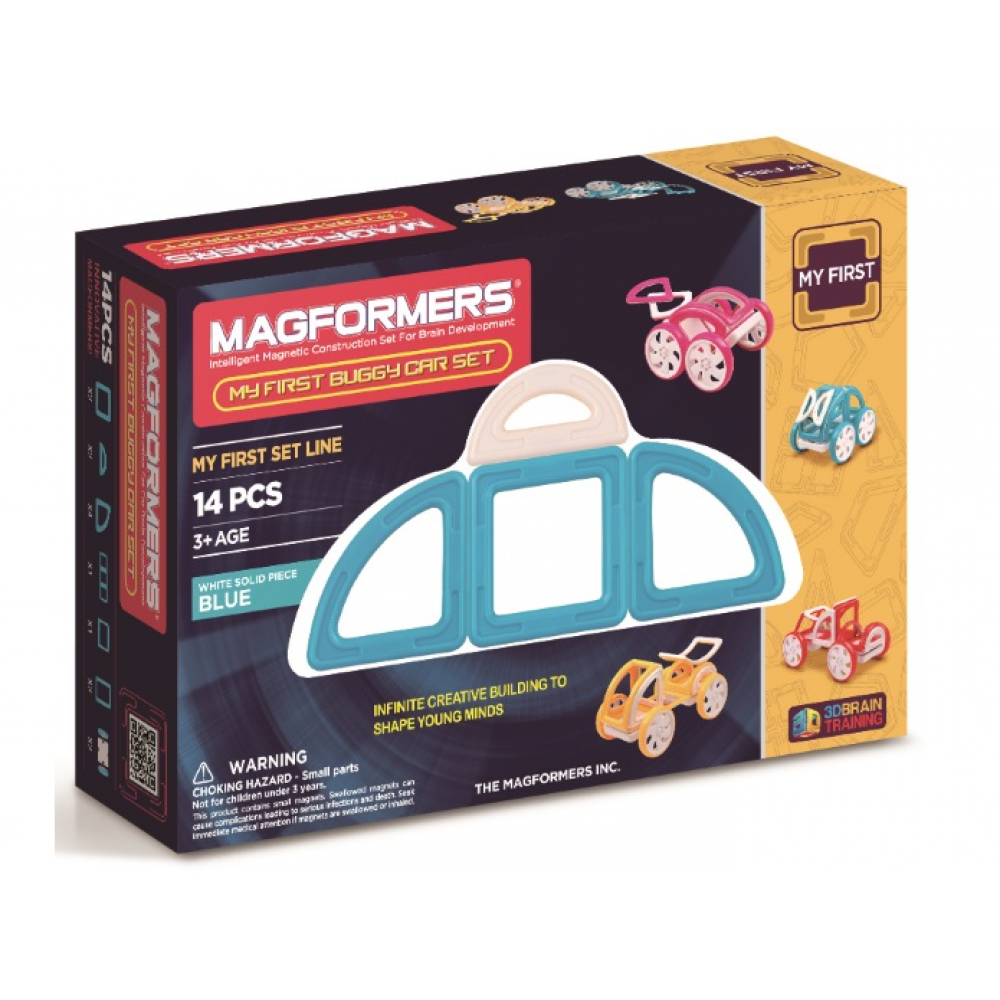 Magformers My First Buggy Car Blå-31