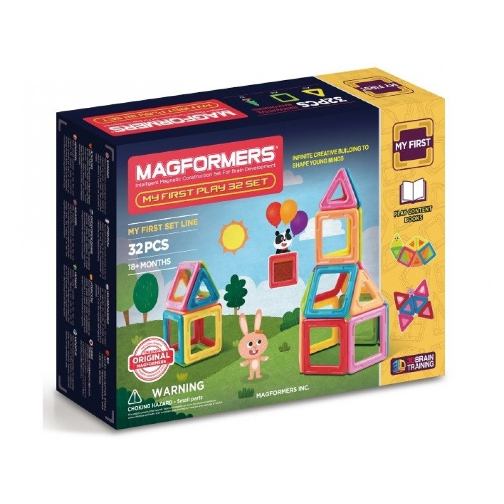 Magformers My First Play sæt 32 dele-31