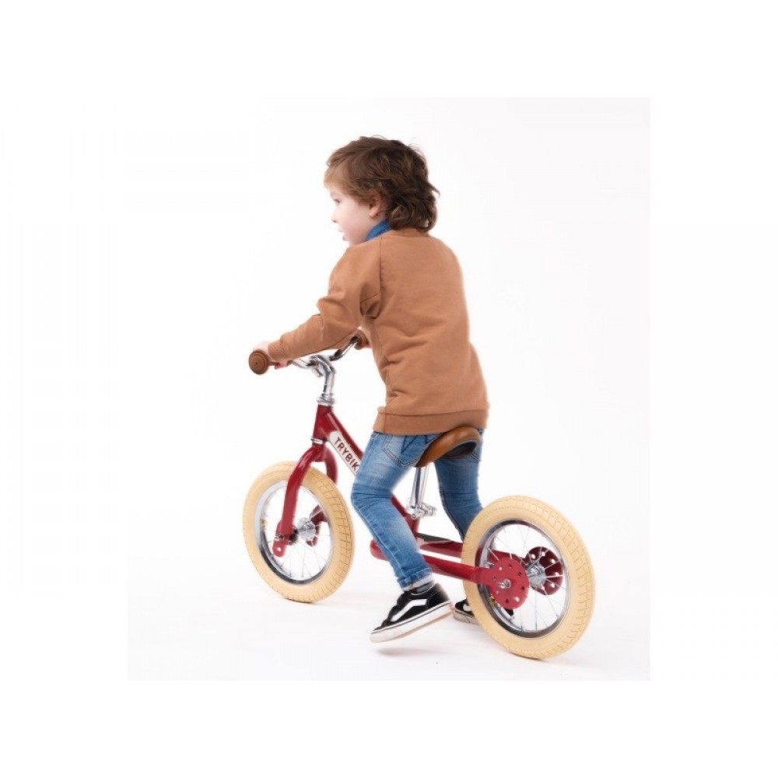 Trybike Løbecykel Rød i retro look-31