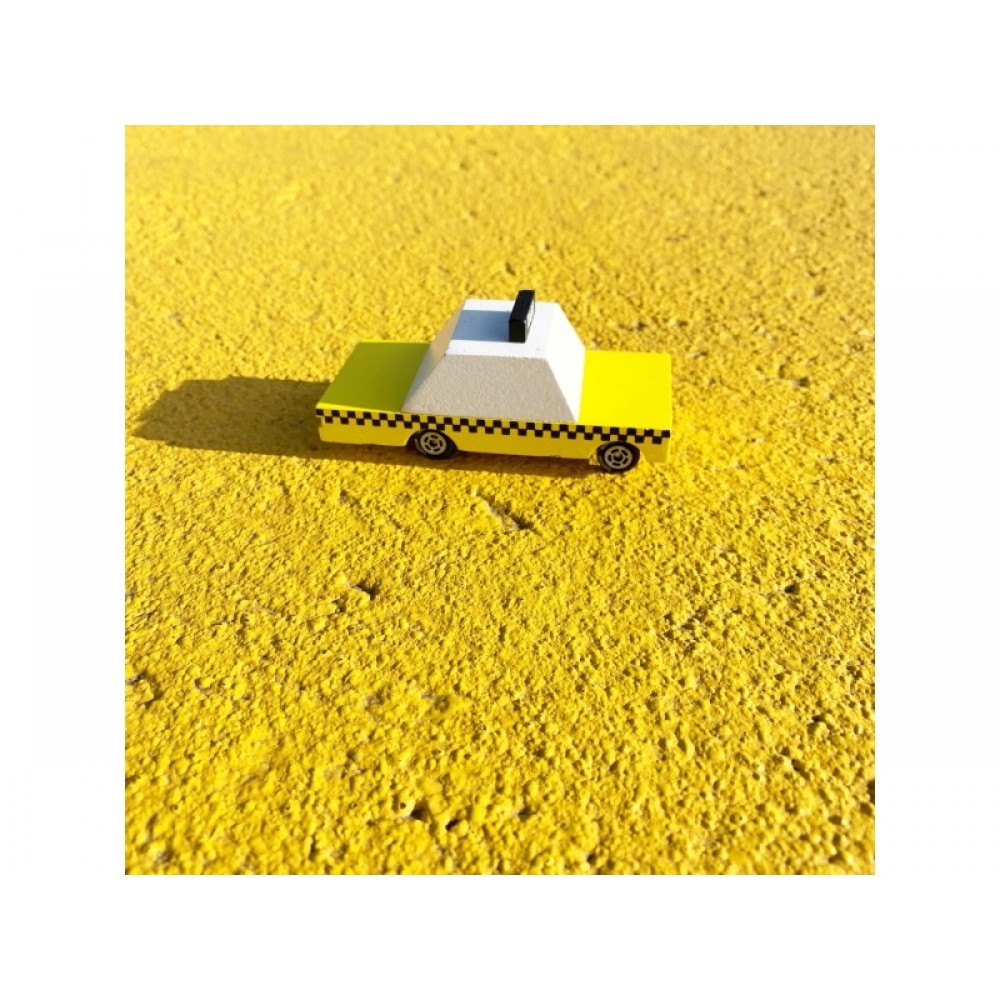 Candylab Candycar Yellow Taxi-31