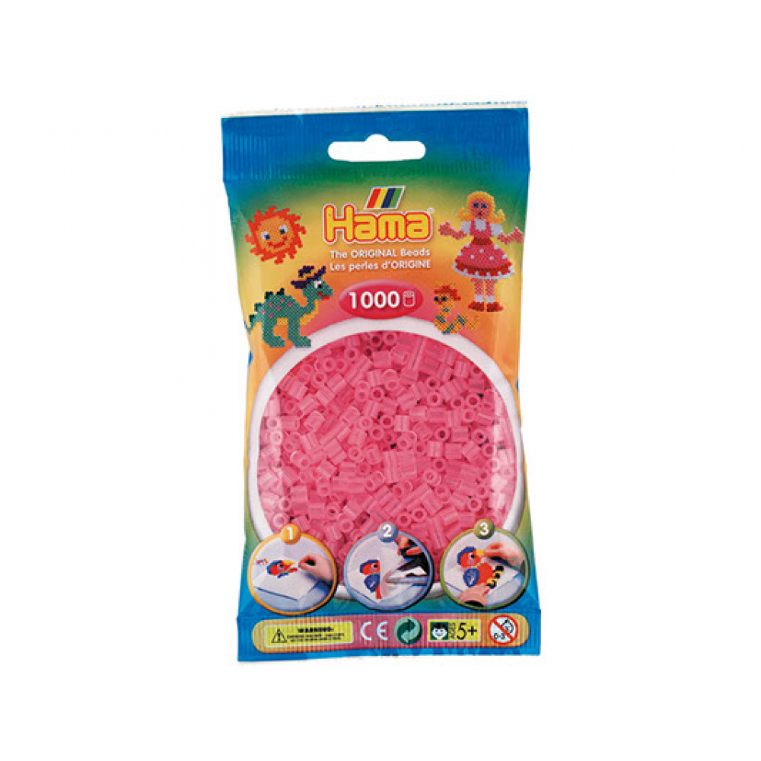 HAMA Midi Perler 1.000 stk., Trans Pink-31
