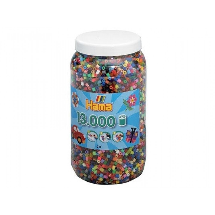 HAMA Mix Perler 13.000 stk., Mix 68-31