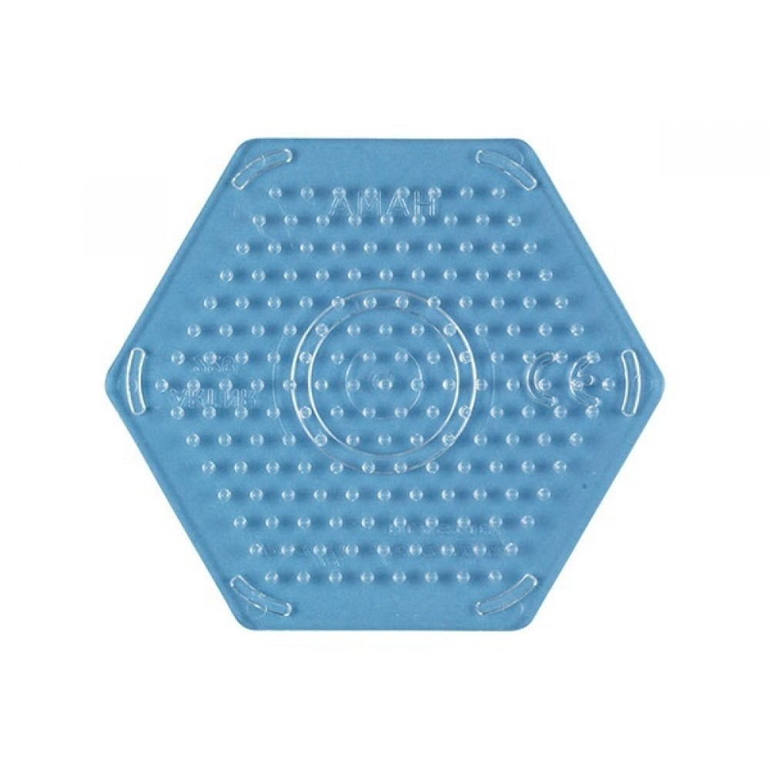 HAMA 6-kantet lille perleplade-31