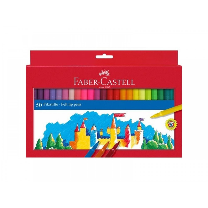 Faber-Castell tusser, 50 stk-31