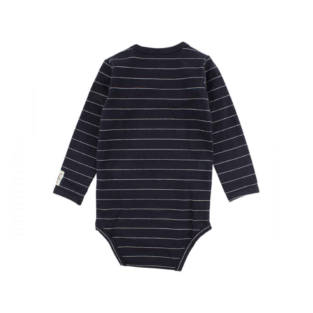 Small Rags Langærmet Fly Body Navy-31