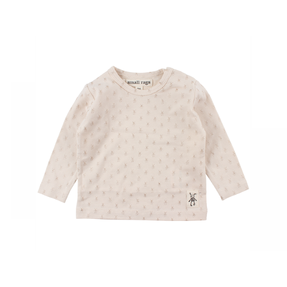 Small Rags Fly Bluse m. glimmer Lys rosa-31