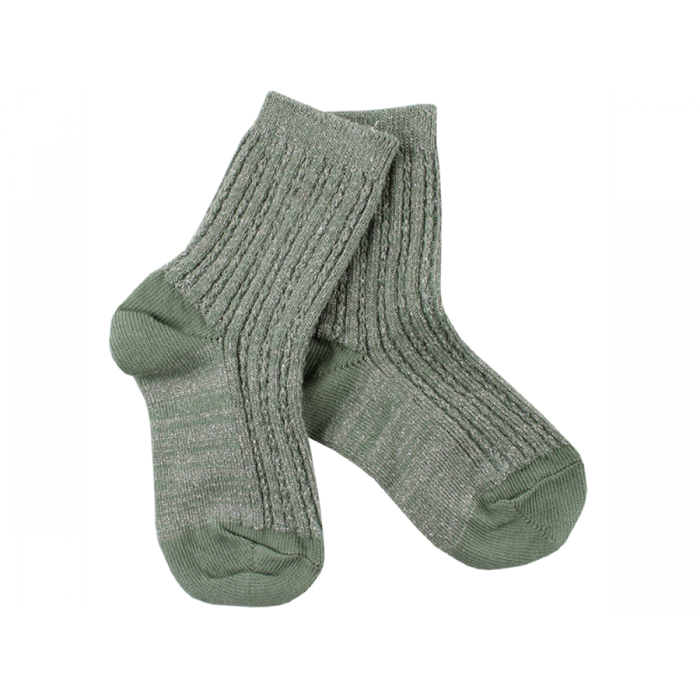 Small Rags Strømper Mørkegrøn-31
