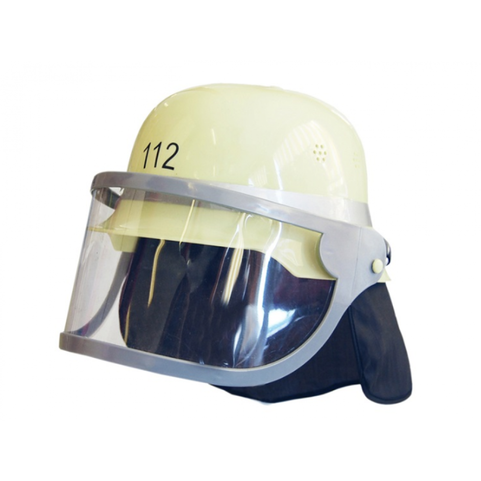 Brandmandshjelm med visir Den Goda Fen-31