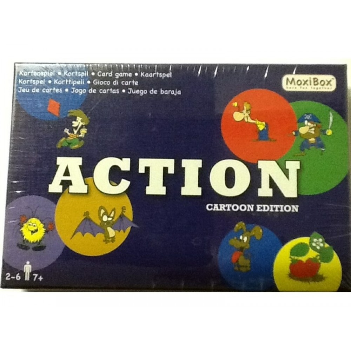 MoxiBox Action Udfordrende kortspil til hele familien-31