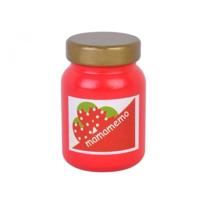 MaMaMeMo Jordbær marmelade Legemad i træ-31