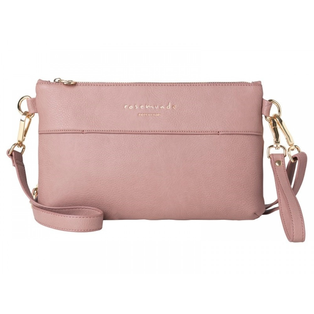 Rosemunde Clutch / Cross-over Misty Rose-31