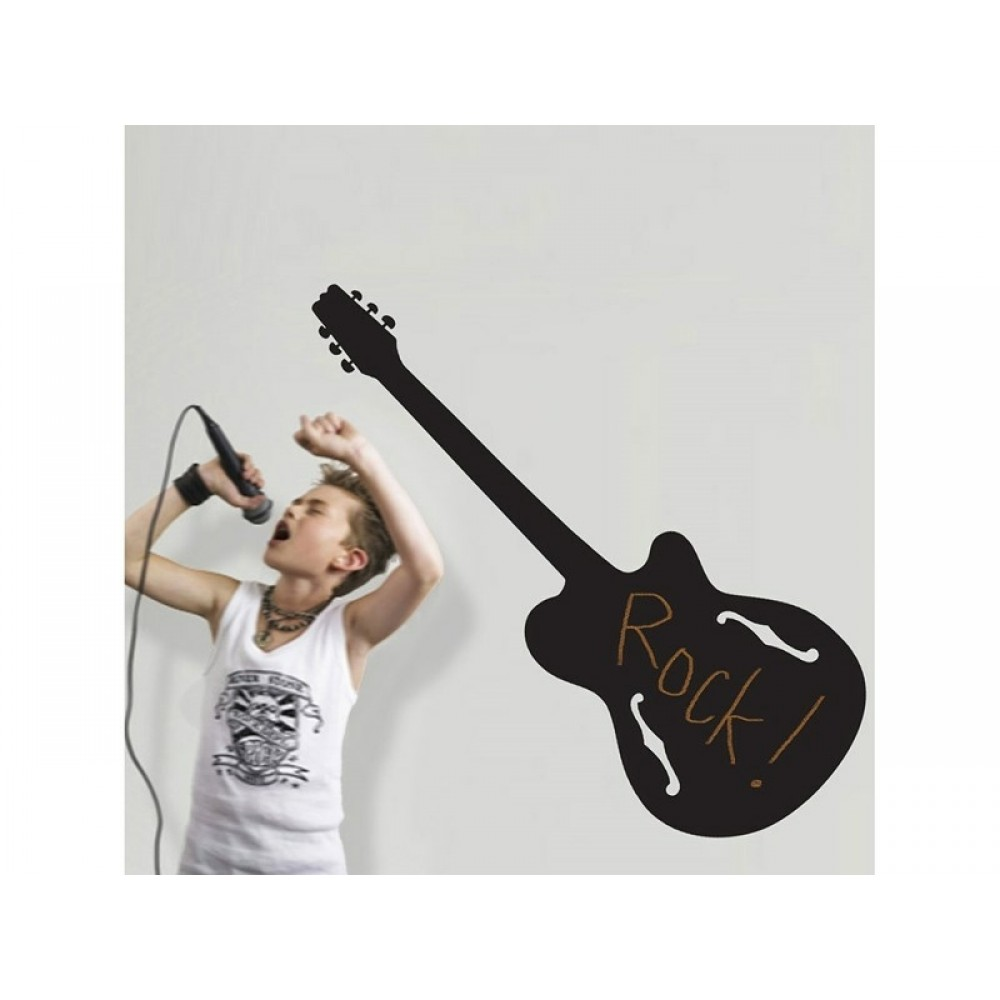 RoomMates Wallsticker Tavle som Rock Guitar*-31