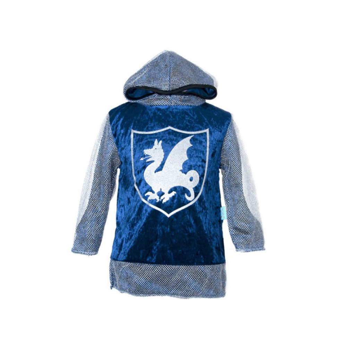Ridder trøje m. hætte i blå Den Goda Fen-31