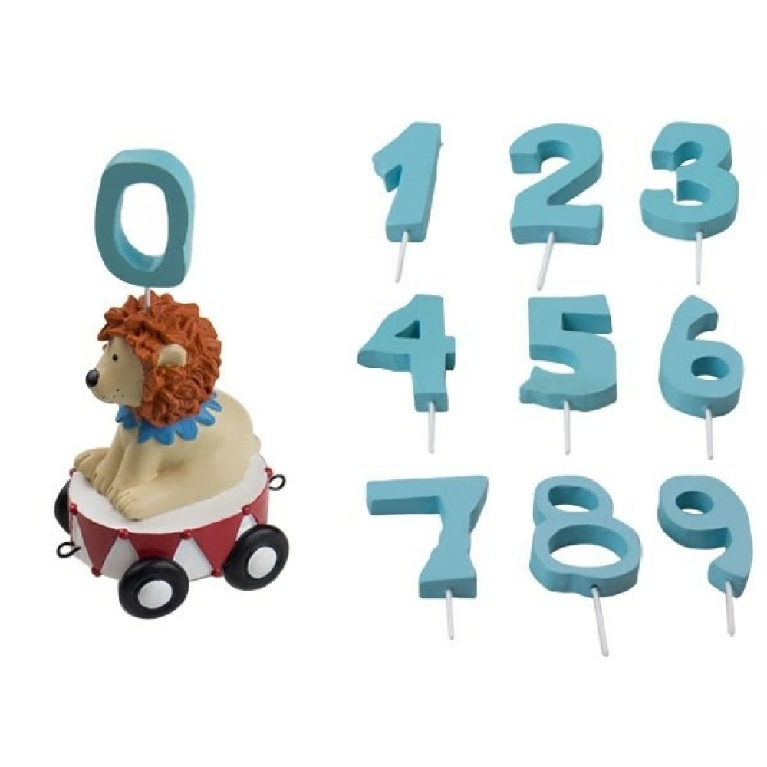 Ekstra vogn med løve til fødselsdagstog inkl. 10 tal fra Friisenborg-31