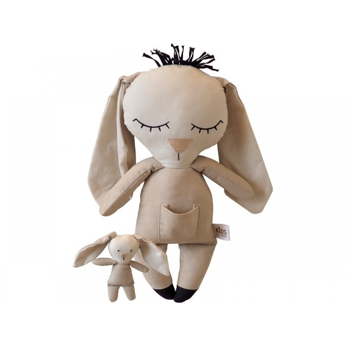 Bamse, Kanin m. baby Kids by Friis-31