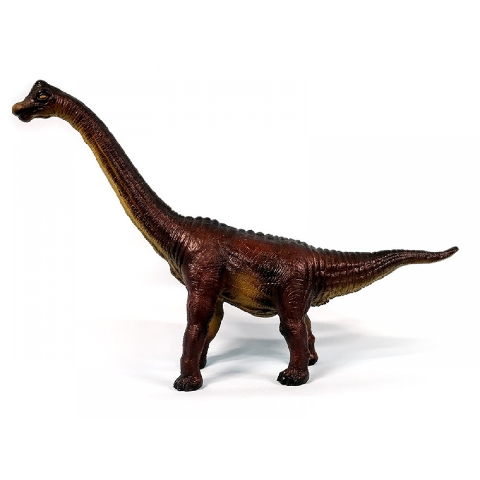Dinosaur Bracchiosaurus gummidyr Green Rubber Toys-31