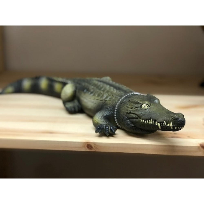 Krokodille gummidyr Green Rubber Toys-31