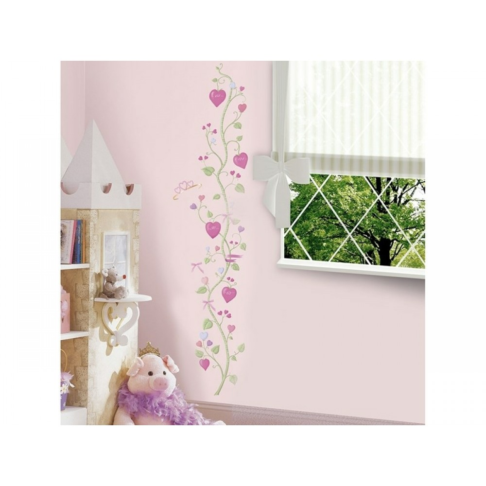 RoomMates Prinsesse højdemåler, wallsticker*-31